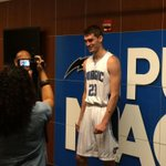 .@OrlandoMagic top draft pick Mario Hezonja is in the house. Press conference love on @MyFoxOrlando #Fox35 at 1pm. http://t.co/9CXDTCGStK