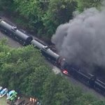 Aerial pictures of the Blount Co. train derailment http://t.co/NlsyGyb6JO