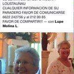 Alerta ciudadana. Se busca a la Sra Guadalupe Molina en #Hermosillo vista por ultima vez el dia Lunes 29 de junio. http://t.co/QG2XDSMhKq