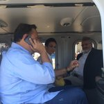 Pdte. @JC_Varela y mandatario de #CostaRica @luisguillermosr conversan sobre apoyo al hermano país ante inundaciones. http://t.co/cJ9TjASEUn