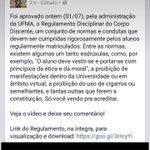 Dolores Umbridge é oficialmente a nova reitora da UFMA http://t.co/SWObTzK3Gs