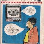 Número 1 de El Chahuistle, de 1994, con portada de Rius dedicada al mercenario que falleció hoy #JacoboZabludovsky http://t.co/MBUKTeFooK