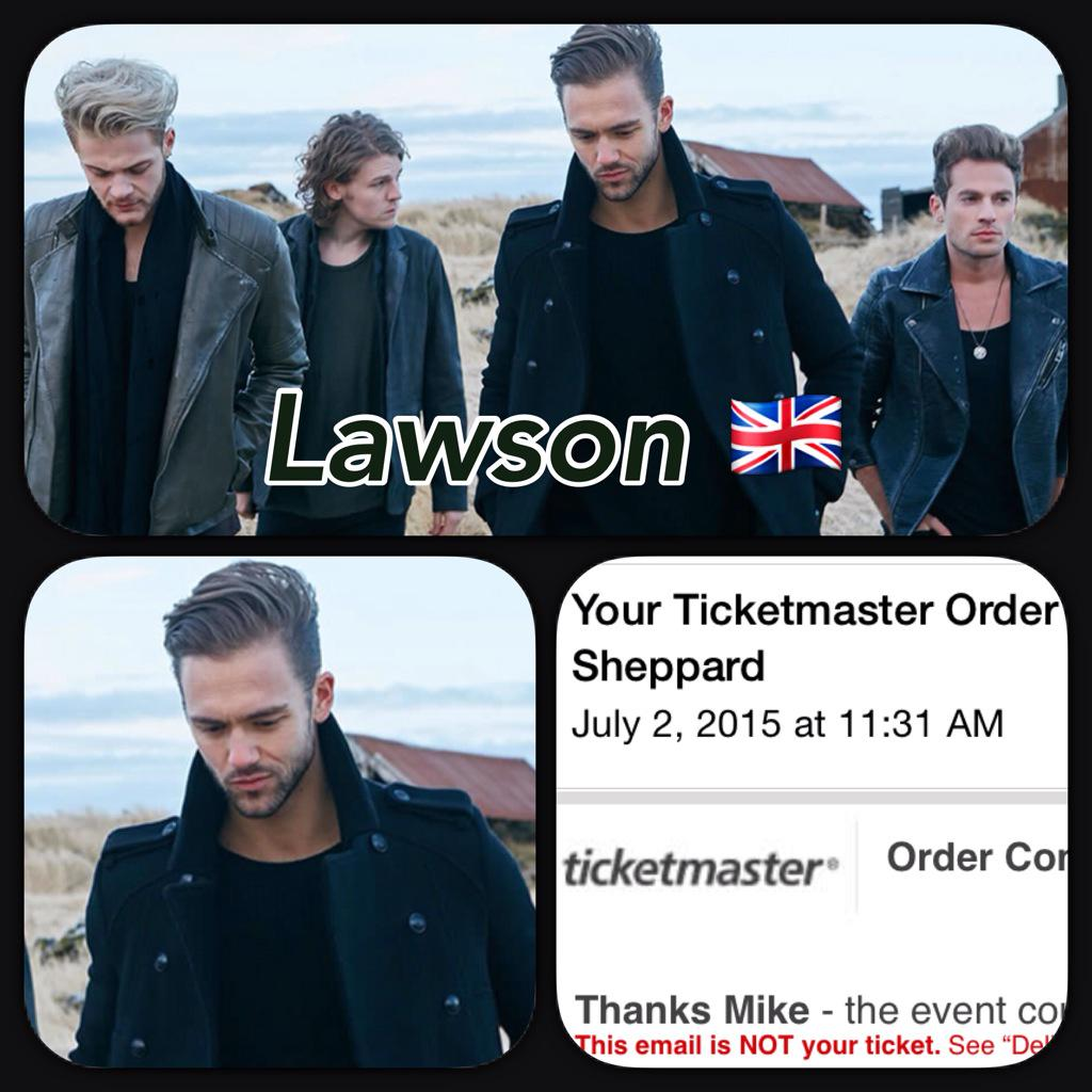 Road trip to Albany to see @LawsonOfficial ? See you in 16 days! @LawsonAdam @LawsonAndy @LawsonJoel @LawsonRyan