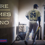 OFFICIAL: #MNTwins call up @SanoMiguel for tonight's game in KC. He will wear #22. #LetItSano http://t.co/MdqpSajE0D http://t.co/ILondMSPiH