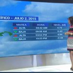 #NACIONALES La tabla de mareas de hoy, jueves 2 de julio del 2015 cc: @quinnannette --> http://t.co/Wu4RmOT4H9 http://t.co/oAZJ1Ji9Dj