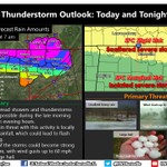 Storms expected to develop again this afternoon. Flash flooding, gusty winds, and hail possible. #HUNwx http://t.co/J1UKDWF34l