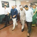 Delhi CM @ArvindKejriwal & Deputy CM @msisodia with former president @APJAbdulKalam at Delhi Secretariat http://t.co/jTcccQCFEm