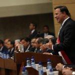 Informe a la Nación, 1er año de Gobierno de la administración del Pdte. @JC_Varela. https://t.co/Z7rvQ8uhAd http://t.co/qNq0ss4AfN