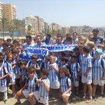 ¡Espectacular puesta de largo de los tres primeros fichajes del #MálagaCF! http://t.co/yjT07bXoVW vía http://t.co/6HfssNNJ7Y