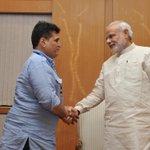 Grateful to @PMOIndia #MITOA @NarendraModi for sending pics so soon http://t.co/JrvFwW7zJn