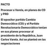 El Pacto PRD-CD / en el fondo salvar a los corruptos. Me extraña la ambivalencia de ella. http://t.co/BsHV92mzgD