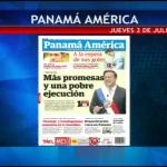 #Portadas #Nacionales de @PanamaAmerica para Hoy Jueves 02 de Julio. http://t.co/IoKtkI60kV