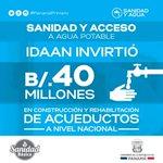 IDAAN avanza con la preparación para ampliar la producción y distribución en potabilizadoras de agua. #PanamáPrimero http://t.co/Lq40svRS3j