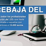 Se extenderá a todos los profesionales el tipo de retención del 15% en el IRPF @marianorajoy #RajoyExpansión http://t.co/883pnUMqXn