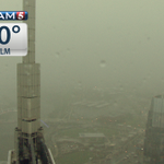 #Skycam shows another storm cell over #Nashville at 7:40a. Your forecast #NOWonNC5 PLUS http://t.co/ClQoL96ElK