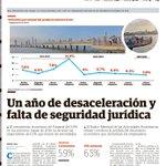 #EconomiaPA Vea hoy nuestra portada. Un año de desaceleración y falta de seguridad jurídica. http://t.co/Yz193gFKXp http://t.co/LzjRlhckBC