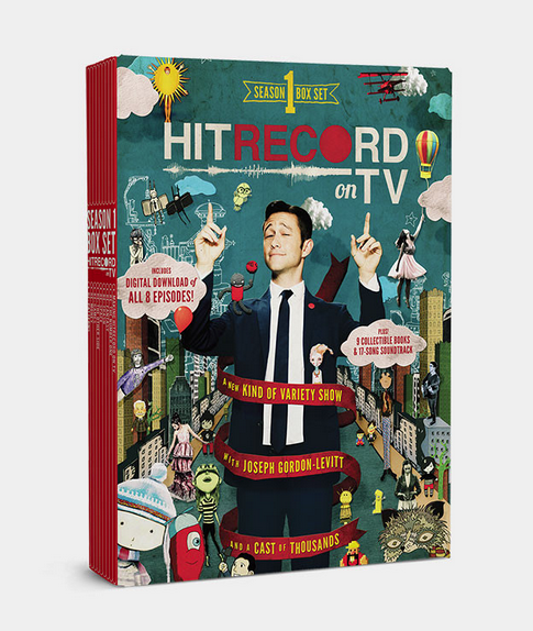 RT @hitRECord Season 2 of #HITRECORDonTV's on the airwaves right now, but you can own S1 here: http://t.co/3c8PIASu6t http://t.co/SjutFTrCAW