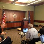 Waiting for announcement from Louisiana AG. Speculation is its related to BP and Deepwater Horizon http://t.co/V1KqvCu83B