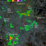 6:10 AM: More showers in the Las Vegas area. Occasional lightning is possible. Slow down for the AM commute! http://t.co/A4fgNTJKT0