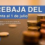 Se adelanta al 1 de julio la rebaja del IRPF prevista para el 1 de enero de 2016 @marianorajoy #RajoyExpansión http://t.co/TUanrKLHpH