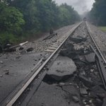 The latest on the train derailment in Blount County.  http://t.co/bHDcbGQlYU Photo Courtesy of @michaelpix http://t.co/drLigPTjkb