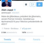 Joli coup du CM de @alainjuppe qui a mis sa marionnettes des Guignols en PP #TouchePasAuxGuignols http://t.co/plHEhENGb7