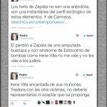 Gente que pedís respeto a las Víctimas que ahora atacan a Irene villa por no inculpar a Zapata. http://t.co/bPXLTNcyZd