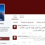 Tous les politiques se mobilisent, Bachar el-Assad change aussi sa photo sur Twitter en soutien aux #Guignols http://t.co/JQMUVEMbOa