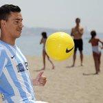 """Fábio Espinho: """"Estoy encantado en el #MálagaCF, es un sueño de niño venir a jugar a @LaLiga"""" http://t.co/XClEGn31eu http://t.co/kt1QvFAdgg"""
