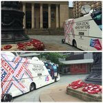 Who spotted the @BBCSheffield bus outside City Hall?! #sheffieldissuper http://t.co/gvECQC8wLb