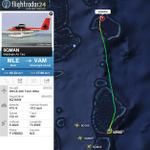 Trans Madivian Airways DHC-6 crash landed in water near Kuredu Island Resort, Maldives. All passengers are safe. http://t.co/kLvx3Cu3zI