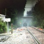 JUST IN: first images of train derailment. Fire still burning. @WBIR #BREAKING http://t.co/vIUJfxuZDB