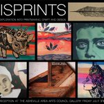 "Opening reception for ""MISPRINTS"" featuring 16 #avlart artists + crafters > Friday 7/3 http://t.co/Z8W050RyRO http://t.co/WigqScersj"