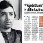 @FarhanaFarook speaks to rajesh khanna's closest friends and tries to demystify some of his demons @filmfare