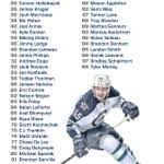 Numerical roster for the #NHLJets development camp which starts tomorrow at MTS Iceplex. First ice time is 1:15pm. http://t.co/tu2GLA2lz4