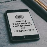 When testing is the enemy of creativity: http://t.co/D3PKuUpdML http://t.co/UX4PbBZKJ1