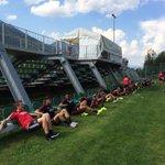 #Ajax is weer op het veld voor de tweede training van de dag. #trainingskamp