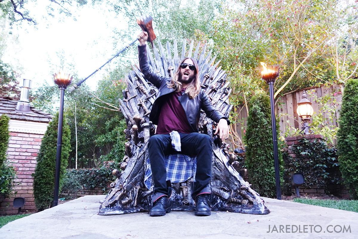 You know nothing, Jon Snow. #HouseLeto #fbf #NFTO http://t.co/b7kLDRpc05