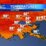 Heating up now with hazy sunshine! #nola #mscoastwx @wdsu http://t.co/8fI3vJLpGy