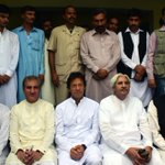 All PTI top leadership was present to welcome the new joiners... #MS http://t.co/XXDhHGklWX