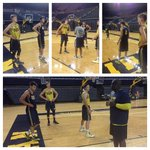 Getting a little summer work in. It was great day at Crisler for @moritz_weasley and @BHibbitts32 #GoBlue http://t.co/EPbaoHapmD