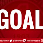 GOAL!!!!!!! Aberdeen take the lead!!!! #DonsLIVE http://t.co/6pxbreS98q