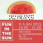 #jogja @FlohmarktFest: 3-5/7/15 13.00-21.00 Flohmarkt Fest : Fun in The Sun di fave hotel kusumanegara | free | http://t.co/QHIfNoMfuQ