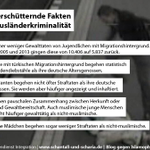 5 erschütternde Fakten über Ausländerkriminalität in Deutschland. http://t.co/7xFFAFUVlP http://t.co/OJSJDcNLuS