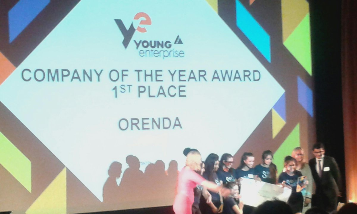 And finally the one you have waited for- this year's UK Company of the Year is Orenda! @SipOSnack #inspired #YEfinals http://t.co/mTkjUU7TFN