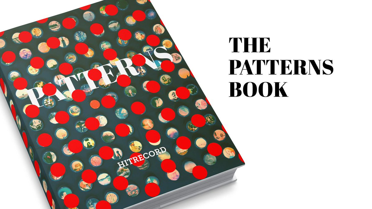 RT @hitRECord: Who wants to do some writing for this Patterns book we're publishing? http://t.co/nnozMXjUHY http://t.co/LDTaq0pate