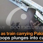 17 including army troops killed as train plunges into Gujranwala canal http://t.co/kHo5uR8De3 http://t.co/s2giWnMY6I