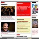 Nuestra web con la Ley Mordaza, por nuestro amigo Alejandro. http://t.co/iEZ7QzMm4I
