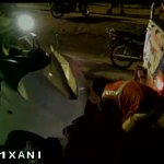 Spot visuals: BJP MP Hema Malini meets with an accident in Dausa, Rajasthan. http://t.co/3l0rxMlzqV