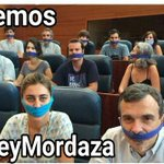 Orgulloso de lxs dipuyadxs de #Podemos Madrid #SíNosRepresentan #LeyMordaza http://t.co/AkPul58F9J